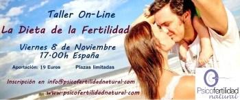 Taller on-line Dieta Fertilidad